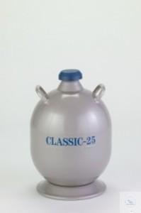 Classic-25 Flüssigstickstofflagerbehälter N2-Kapazität: 25 l stat. Haltezeit:...