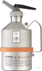 Safety can (1 liter) with metering device, unpolished: 01DU Safety can (1...