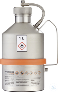 Safety transportation can (1 liter) with screw cap - UN-approved: 01T Safety...