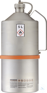 Safety transportation can (5 liters) with screw cap - UN-approved: 05T Safety...