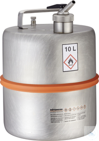 Safety barrel (10 liters) with metering device and separate ventilation: 10D...