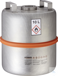 "Safety collection barrel (10 liters) with centered 2""-plug: 10S Safety..."