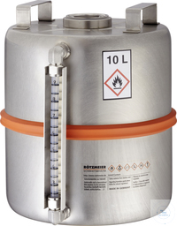 Safety collection barrel (10 l) with content indicator and 2 inch plug: 10SI...