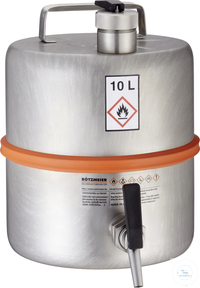Safety barrel (10 liters) with self-closing tap: 10Z Safety barrel (10...