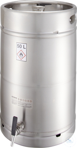 Safety barrel (50 liters) with self-closing tap: 50Z Safety barrel (50...