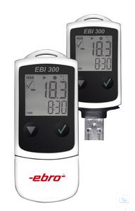 EBI 300 - Temperaturdatenlogger USB-Logger NTC -30 ... +70°C EBI 300 -...