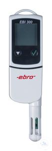 EBI 300 TH USB-Temperaturlogger und Feuchtefühler EBI 300 TH...