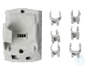 AG 151, Platic wall holder with 6 clamps AG 151, Platic wall holder with 6...