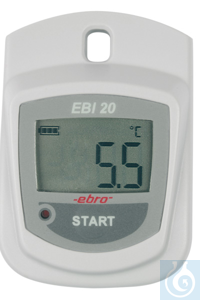EBI-20 T Temperature logger with internal probe