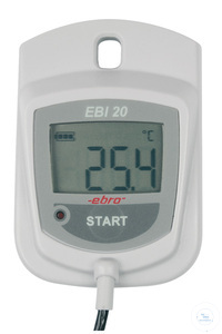 EBI-20 TE Temperature logger with external probe