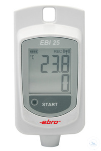 EBI-25 / T Wireless thmerarute logger (internal probe)