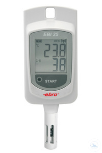 EBI-25 TH Wireless temperature-/ humidity logger (external probe)