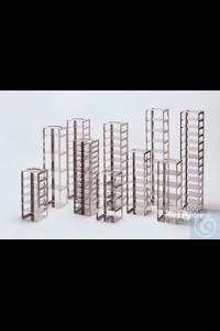 Mikrotiter Truhengestell, für 30 MT-Platten bis 86x128x18 mm, Edelstahl,...