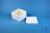 FoxBox 95 / 10x10 Fächer, weiß, Höhe 95 mm, Karton spezial, Rastereinsatz...