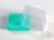 EPPi® Kryobox 5.0 / 10x10 Fächer, grün, Höhe 94 mm fix, mit Codierung, PP....