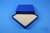 ALPHA Box 25 / 16x16 divider, blue, height 25 mm, fiberboard standard. ALPHA...