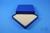 ALPHA Box 25 / 16x16 Fächer, blau, Höhe 25 mm, Karton standard. ALPHA Box 25...