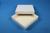 ALPHA Box 25 / 1x1 ohne Facheinteilung, weiss, Höhe 25 mm, Karton standard....