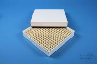 ALPHA Box 25 / 16x16 divider, white, height 25 mm, fiberboard special. ALPHA...