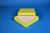 ALPHA Box 25 / 16x16 Fächer, gelb, Höhe 25 mm, Karton spezial. ALPHA Box 25 /...