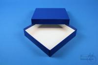 ALPHA Box 32 / 1x1 without divider, blue, height 32 mm, fiberboard standard....