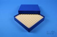 ALPHA Box 32 / 13x13 divider, blue, height 32 mm, fiberboard special. ALPHA...