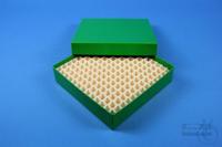 ALPHA Box 32 / 13x13 divider, green, height 32 mm, fiberboard special. ALPHA...