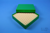 ALPHA Box 32 / 13x13 Fächer, grün, Höhe 32 mm, Karton spezial. ALPHA Box 32 /...
