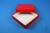 ALPHA Box 32 / 1x1 ohne Facheinteilung, rot, Höhe 32 mm, Karton standard....