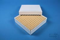 ALPHA Box 32 / 13x13 divider, white, height 32 mm, fiberboard standard. ALPHA...