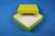 ALPHA Box 32 / 1x1 ohne Facheinteilung, gelb, Höhe 32 mm, Karton standard....