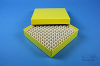 ALPHA Box 32 / 13x13 divider, yellow, height 32 mm, fiberboard special. ALPHA...