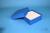 ALPHA Box 50 / 10x10 Fächer, blau, Höhe 50 mm, Karton standard. ALPHA Box 50...