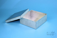 CNS Box 50 / 1x1 without divider, height 50 mm, stainless steel CNS Box 50 /...