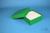 ALPHA Box 50 / 10x10 Fächer, grün, Höhe 50 mm, Karton standard. ALPHA Box 50...