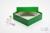 ALPHA Box 50 / 1x1 ohne Facheinteilung, grün, Höhe 50 mm, Karton spezial....