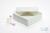 ALPHA Box 50 / 1x1 ohne Facheinteilung, weiss, Höhe 50 mm, Karton standard....