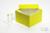 ALPHA Box 100 / 1x1 ohne Facheinteilung, grün, Höhe 100 mm, Karton standard....