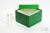 ALPHA Box 100 / 1x1 ohne Facheinteilung, rot, Höhe 100 mm, Karton standard....
