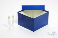 ALPHA Box 100 / 1x1 without divider, yellow, height 100 mm, fiberboard...