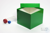 ALPHA Box 130 / 1x1 ohne Facheinteilung, grün, Höhe 130 mm, Karton spezial....