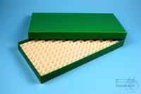 ALPHA Box 25 long2 / 16x32 divider, green, height 25 mm, fiberboard standard....