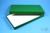 ALPHA Box 25 lang2 / 1x1 ohne Facheinteilung, grün, Höhe 25 mm, Karton...