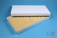 ALPHA Box 25 long2 / 16x32 divider, white, height 25 mm, fiberboard special....