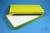 ALPHA Box 25 lang2 / 1x1 ohne Facheinteilung, gelb, Höhe 25 mm, Karton...