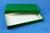 ALPHA Box 32 lang2 / 1x1 ohne Facheinteilung, grün, Höhe 32 mm, Karton...