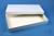 ALPHA Box 32 lang2 / 1x1 ohne Facheinteilung, weiss, Höhe 32 mm, Karton...