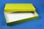 ALPHA Box 32 lang2 / 1x1 ohne Facheinteilung, gelb, Höhe 32 mm, Karton...
