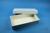 ALPHA Box 50 lang2 / 1x1 ohne Facheinteilung, weiss, Höhe 50 mm, Karton...