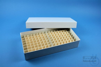 ALPHA Box 50 long2 / 10x20 divider, white, height 50 mm, fiberboard special....